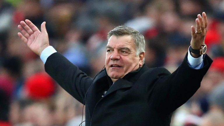 Everton manager Sam Allardyce