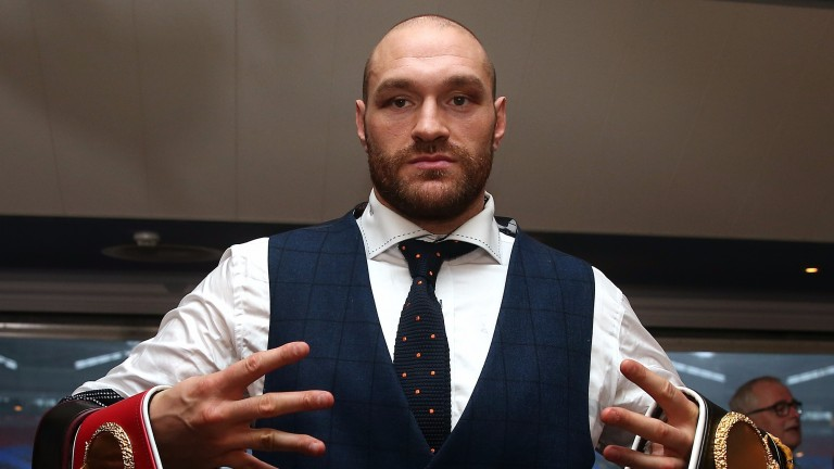 Tyson Fury is set to return to boxing