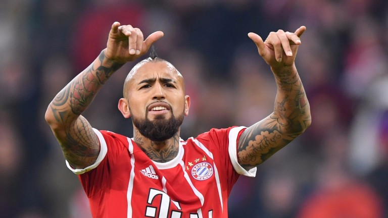 Arturo Vidal of Bayern Munich
