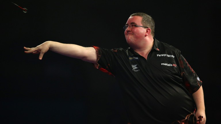 Stephen Bunting can be relied on to hit his share of maximums as long as he stays in the tournament