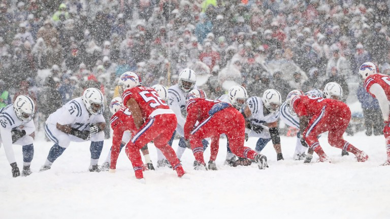 Conditions were tough for Indianapolis in Buffalo