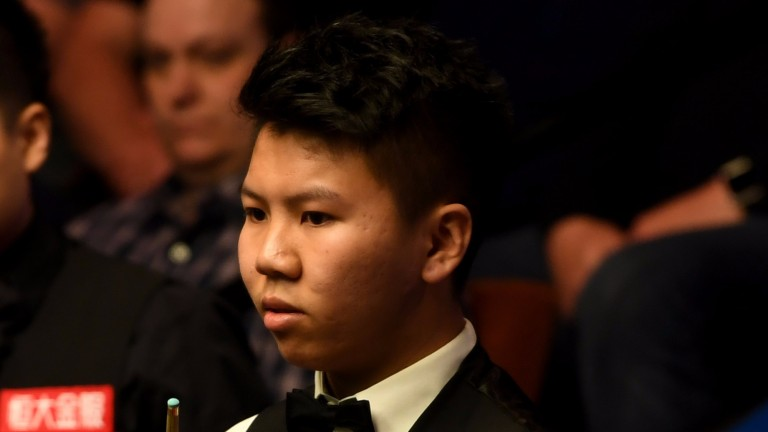 Zhou Yuelong is one of the best young players in the world