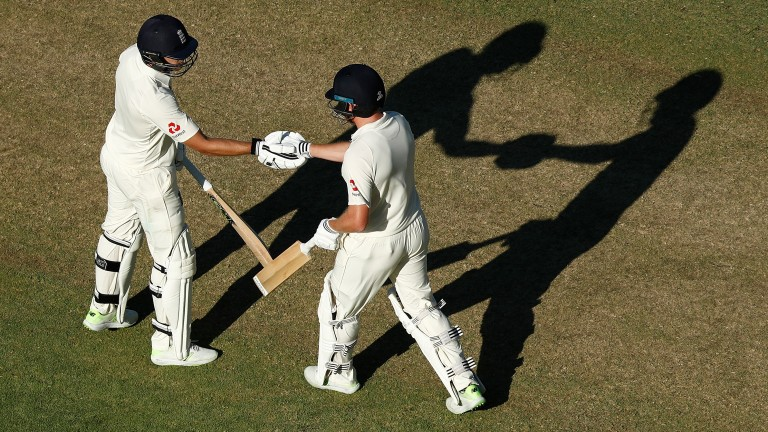 Dawid Malan and Jonny Bairstow batted England into a strong position on day one