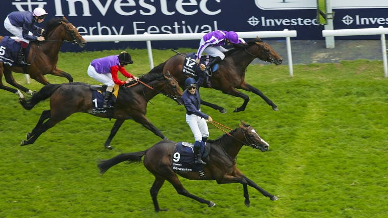 Carlton House could finish only third as favourite in the Derby