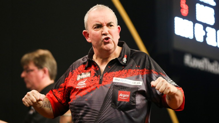 Phil Taylor is taking to the Alexandra Palace stage for the last time