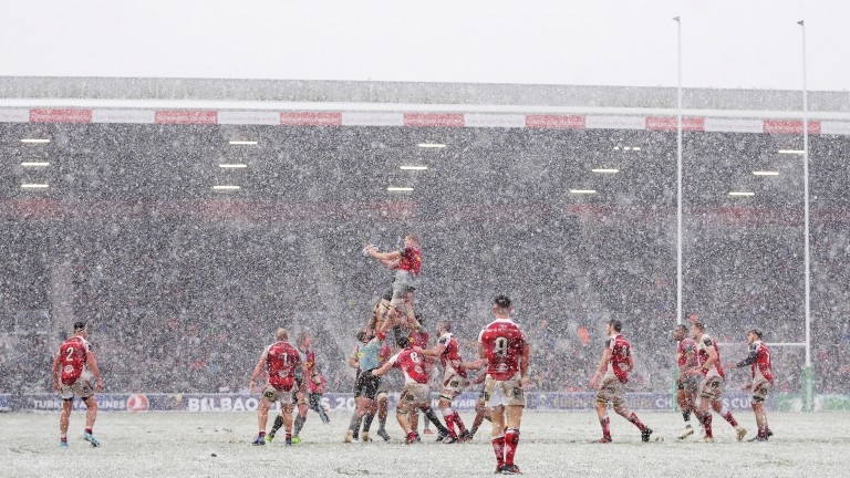 Ulster got the better of Harlequins in the snow at the Stoop