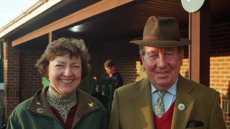 Dinah and David Nicholson were spending their first winter at Condicote in the Cotswolds