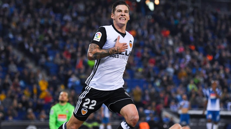 Santi Mina netted as a starter against Espanyol