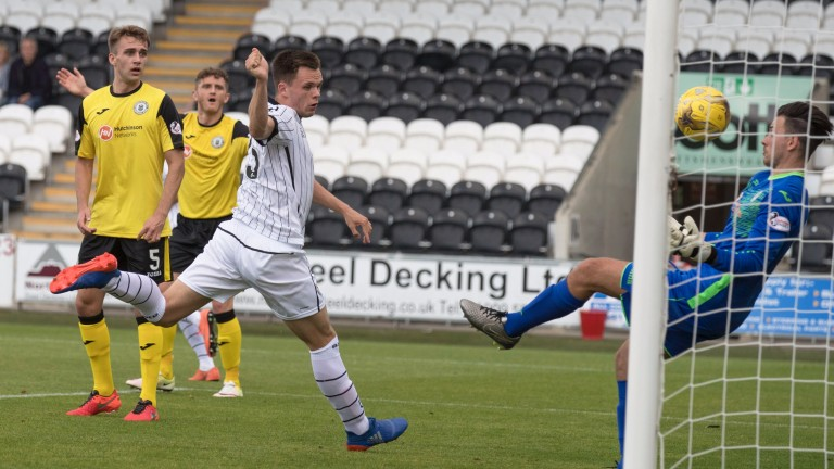 Lawrence Shankland is a goal threat for Ayr