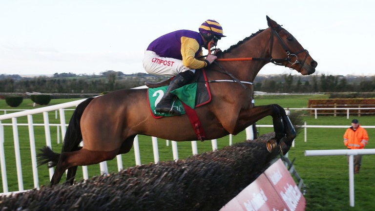 Brelade looks for his first success over fences at Fairyhouse on Saturday