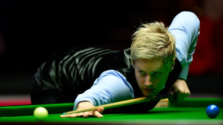 Neil Robertson is starting to find his stride