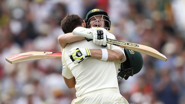 Steve Smith and Mitchell Marsh batted England into submission at the Waca