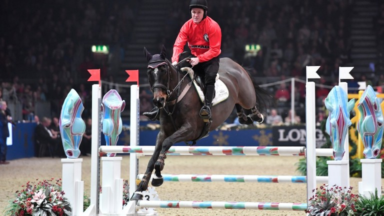 AP McCoy back in the saddle in the Markel Champions Challenge at Olympia