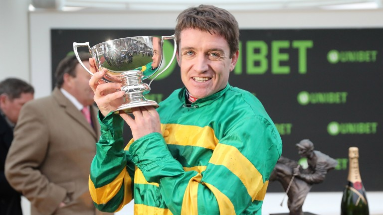 Barry Geraghty enjoys success at last after five seconds on My Tent Or Yours