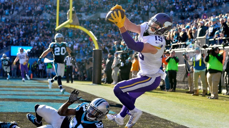Minnesota wide receiver Adam Thielen