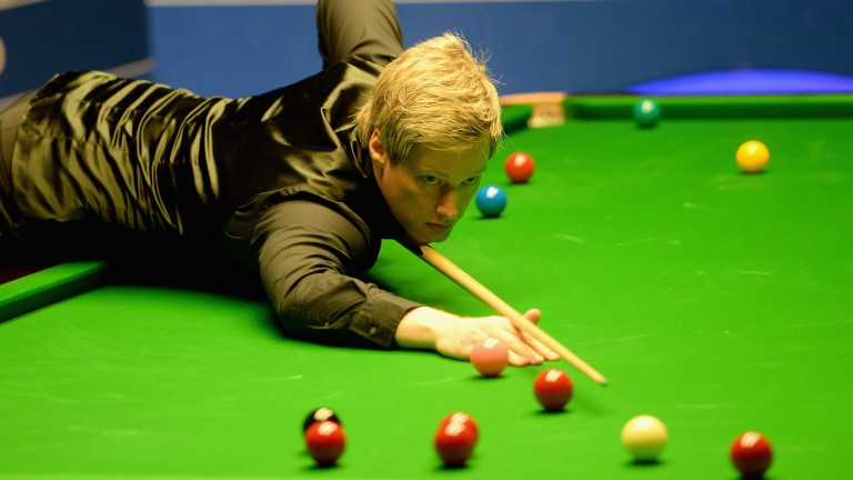 Neil Robertson looks to have rediscovered his A-game in Glasgow