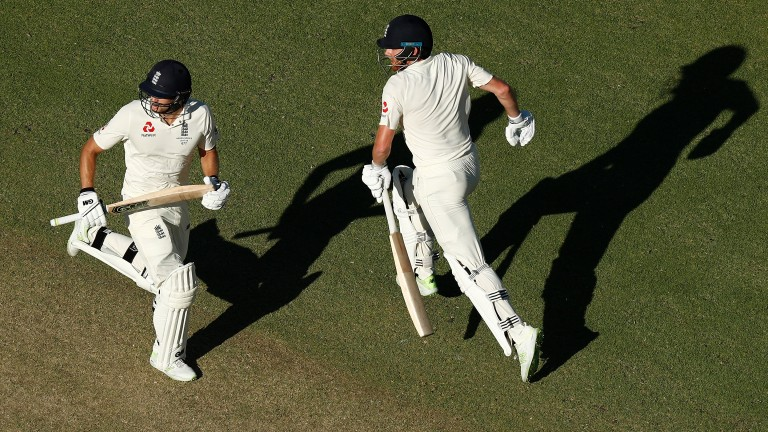 Jonny Bairstow and Dawid Malan will resume at the Waca