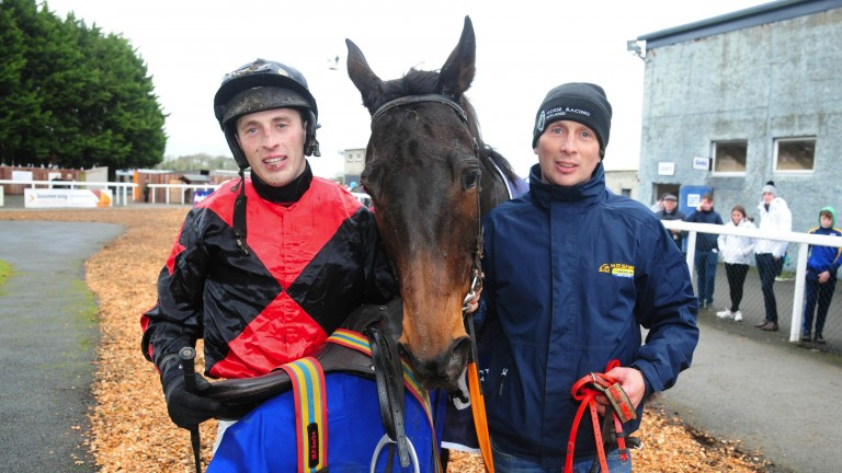 Killahara Castle: became the longest-priced winner in Irish racing history at odds of 200-1 at Thurles on Sunday