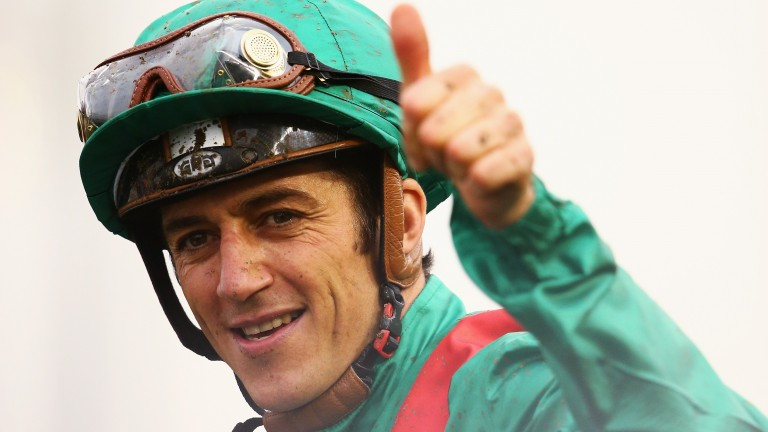 Christophe Soumillon: claimed a European record and has no intention of slowing down