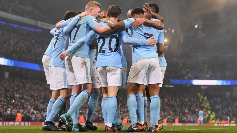 Manchester City hammered Tottenham on Saturday