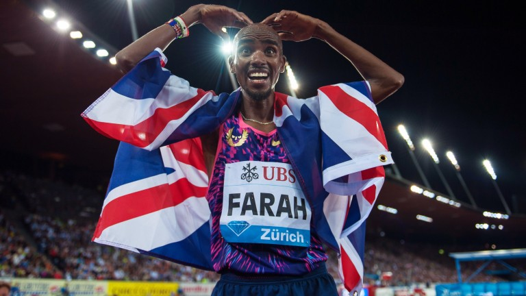 Sir Mo Farah is ready to go in London