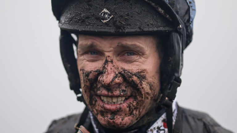 Richard Johnson: needs to pass a concussion test before he can ride again