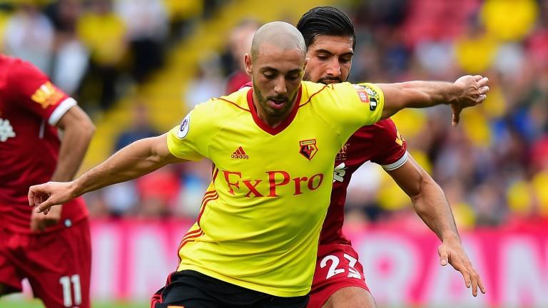 Watford's Nordin Amrabat is on a season-long loan with Leganes
