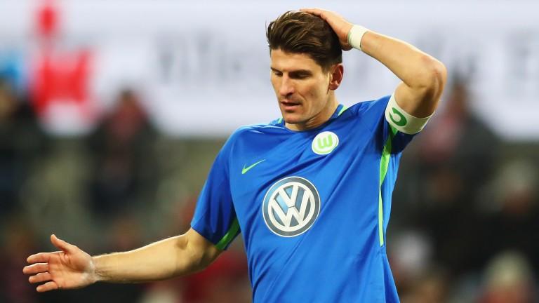 Wolfsburg's Mario Gomez