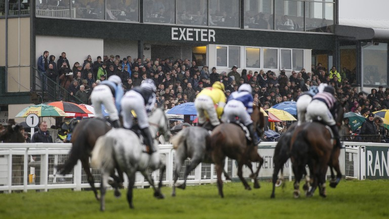 Tracks like Exeter are set to benefit from a boost in prize-money in 2018