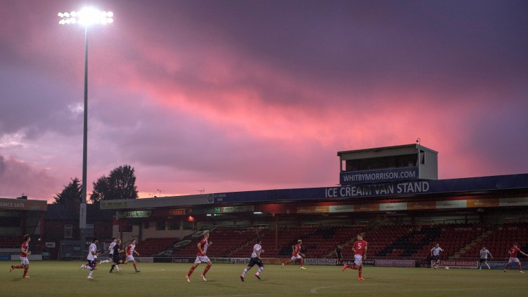 The sun could be setting on Crewe's time in the Football League