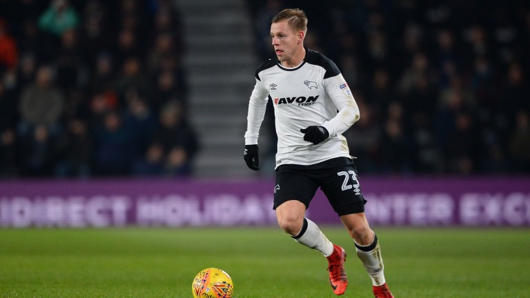 Matej Vydra is in cracking form for Derby