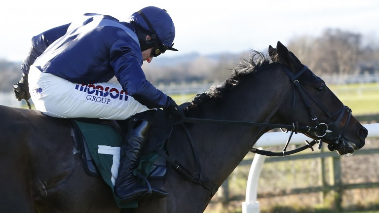 Solo Saxophone scores on his debut under Harry Skelton at Catterick