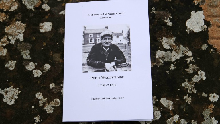 Peter Walwyn: champion trainer who died at the age of 84 this month