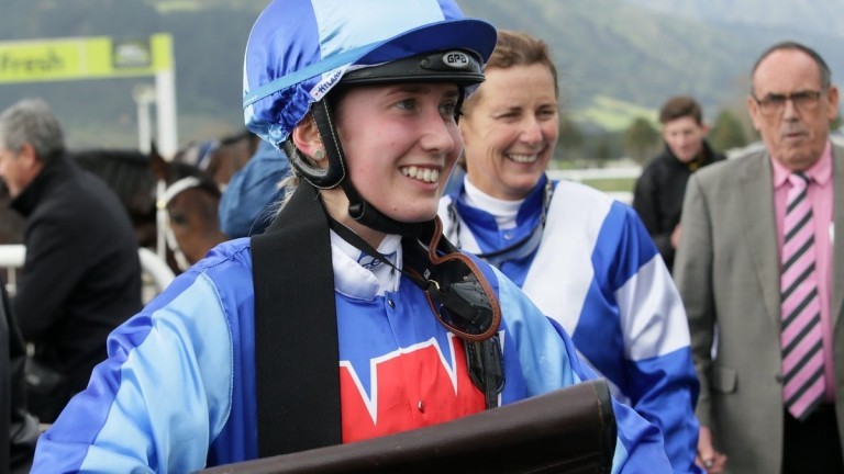 Bailey Rogerson who, at the age of 16, has been granted her trainer's licence