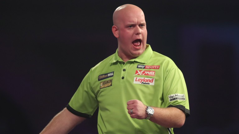 Michael van Gerwen was rattled by Gerwen Price