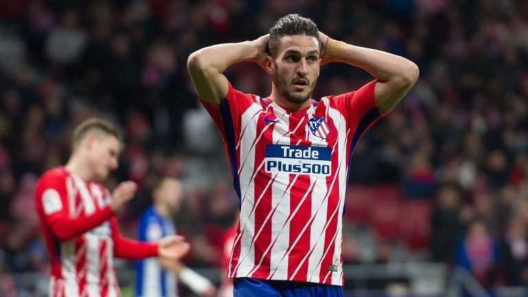 Koke's Atletico Madrid are hot favourites for the derby against Getafe