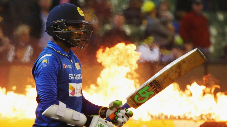 Niroshan Dickwella of Sri Lanka can be a destructive batsman