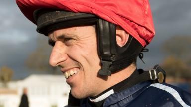 Paddy Brennan wins the mares novices hurdleNewbury 9.11.17 Pic: Edward Whitaker