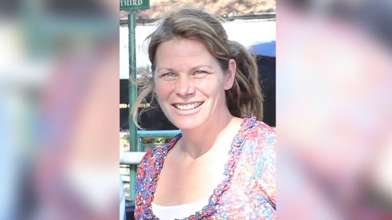 Imogen Pickard after winning at Haydock in 2013