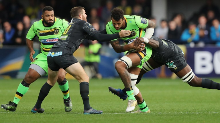 Courtney Lawes returns for Northampton Saints