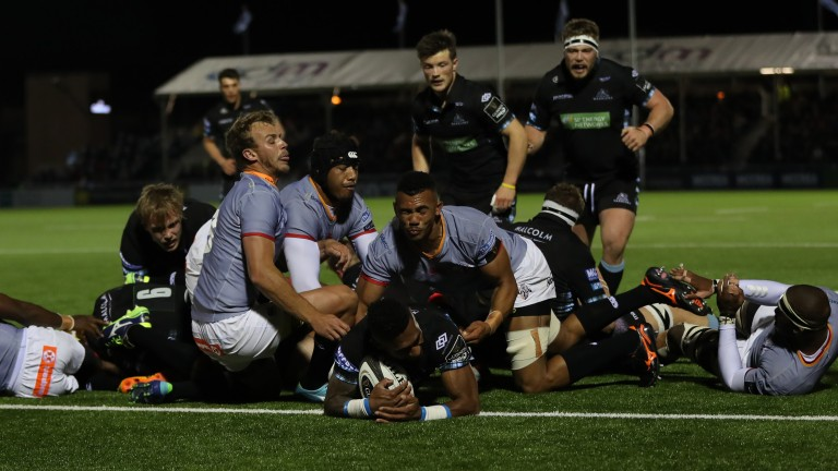 Scrum-half Niko Matawalu is a creative livewire for Glasgow