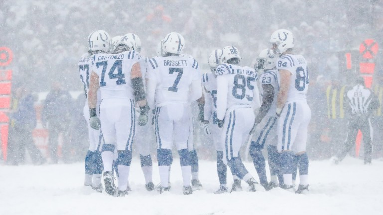 The Indianapolis Colts were unable to win in the snow at Buffalo