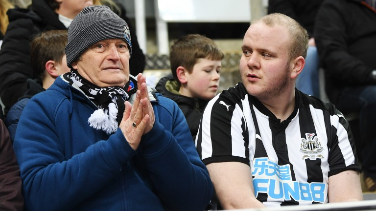 Newcastle fans face a cold winter