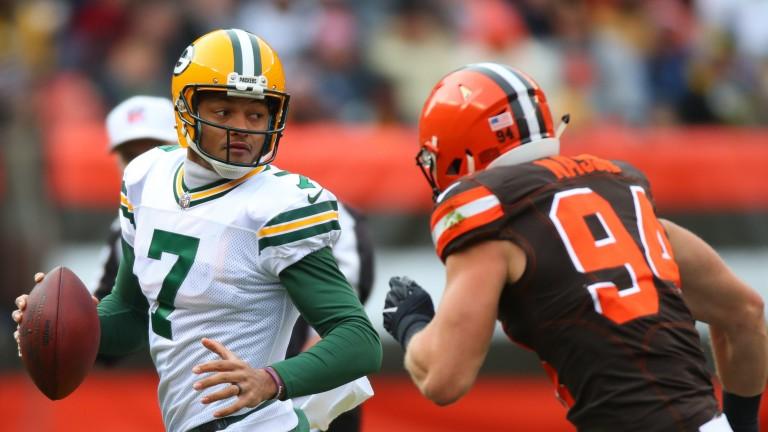 Green Bay quarterback Brett Hundley