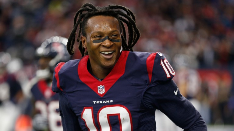 DeAndre Hopkins should be fit to play for Houston on Christmas Day