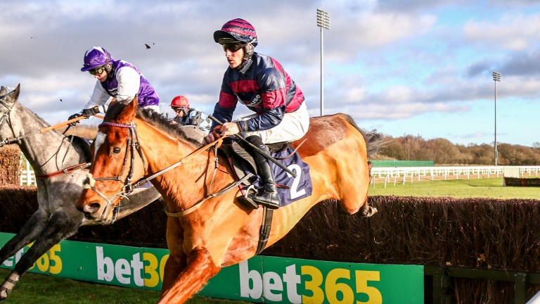 Brian Hughes scores closer to home on Kauto Riko at Newcastle in December