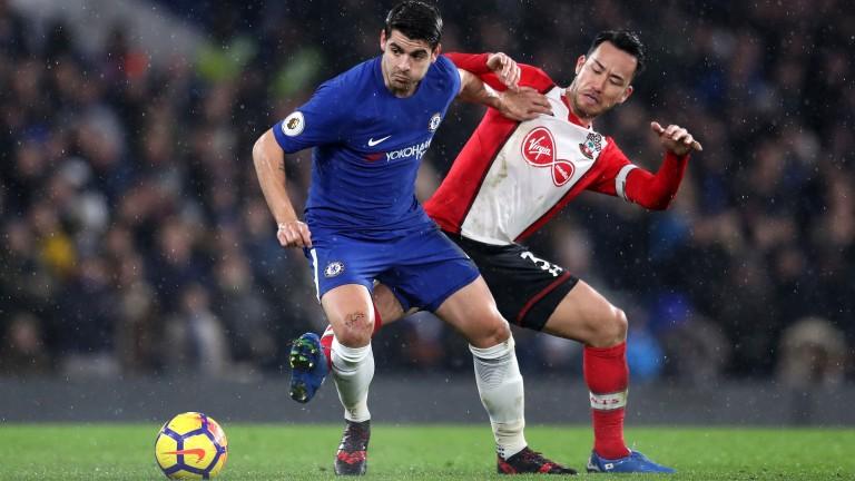 Chelsea striker Alvaro Morata
