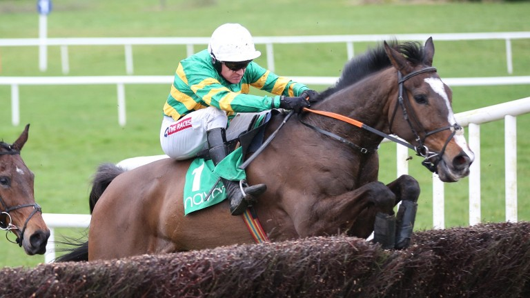 Anibale Fly: Gold Cup runner-up on course for Aintree