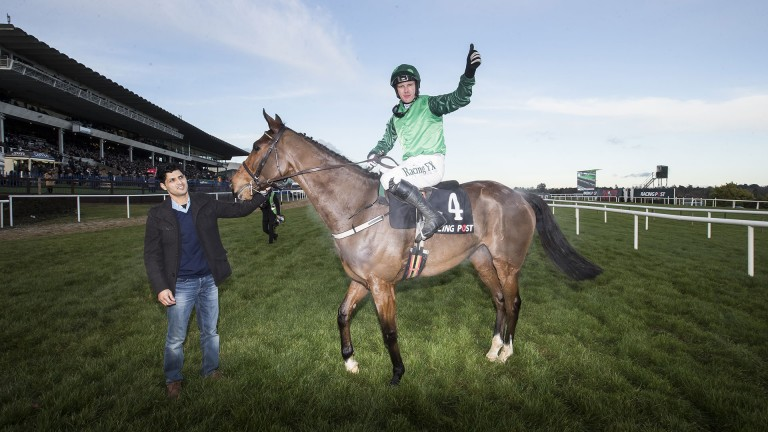 Footpad and Paul Townend take the plaudits after landing the Grade 1 Racing Post Novice Chase
