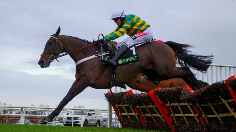 Barry Geraghty was full of praise for Buveur D'Air